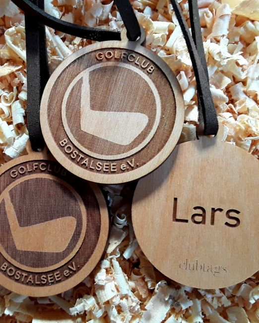 Personalized Wooden Bag Tag