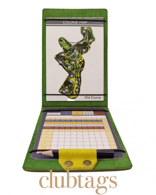 clubtags Scorekartenhalter grün
